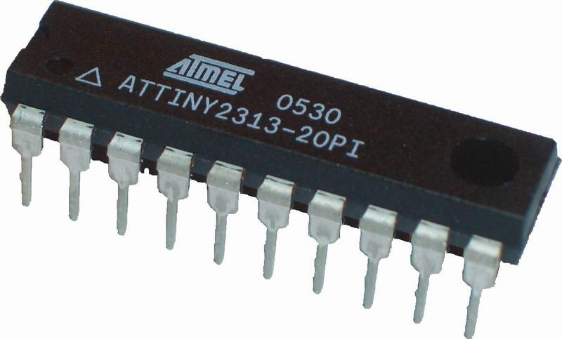 Microcontroler atragy2313.