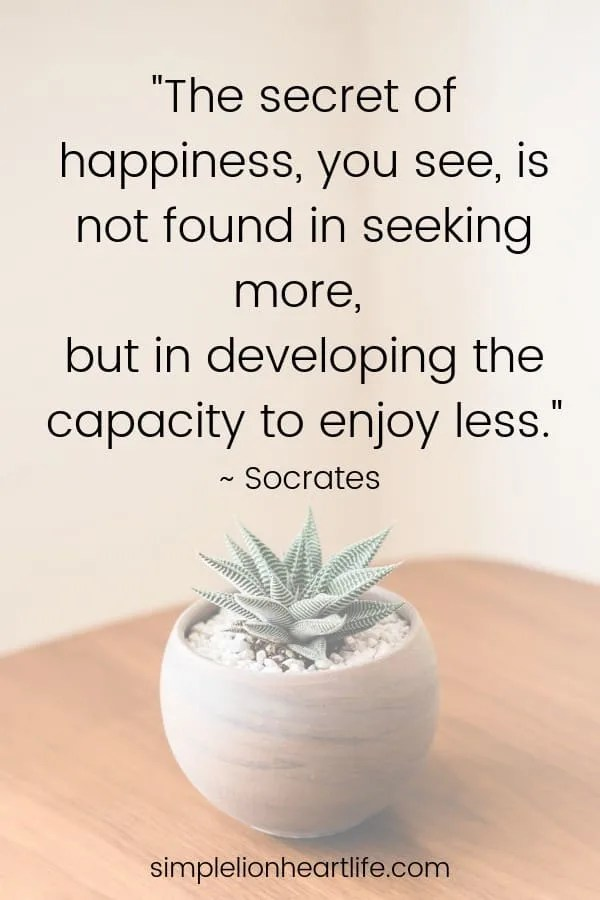 Simple Life Quotes : simple, quotes, Simple, Living, Quotes, Inspire, Declutter, Simplify, Life!, Lionheart