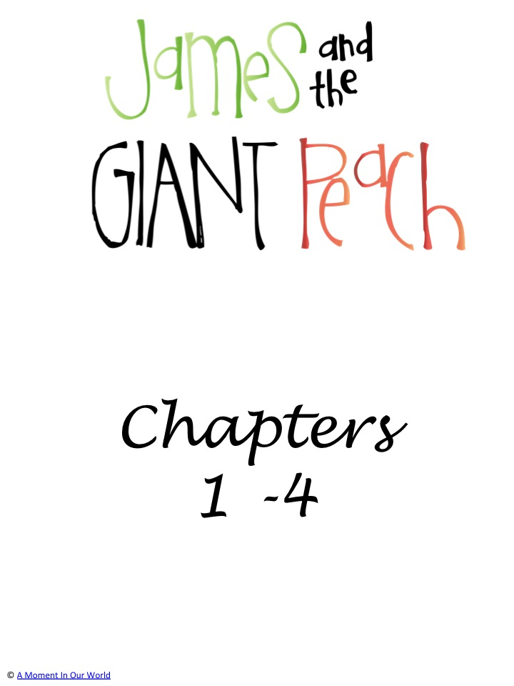 James and the Giant Peach Grades 1 to 4 Pack