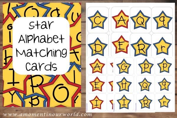 Printable Letters Star