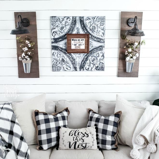 6 Diy Living Room Decor Ideas On A Budget Simple Made Pretty 2021