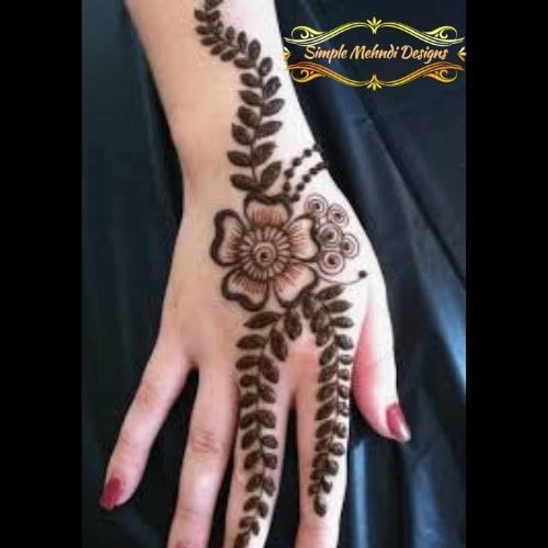 Best Easy Mehndi Designs For Beginners Easy Simple Mehndi Designs,Cute Wedding Indian Lehenga Designs For Girls Wedding