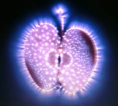 Kirlian apple