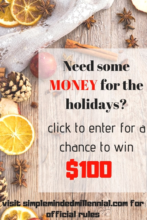 Holiday. Christmas. Giveaway. Money. Personal finance. Sweepstakes. Holiday giveaways.