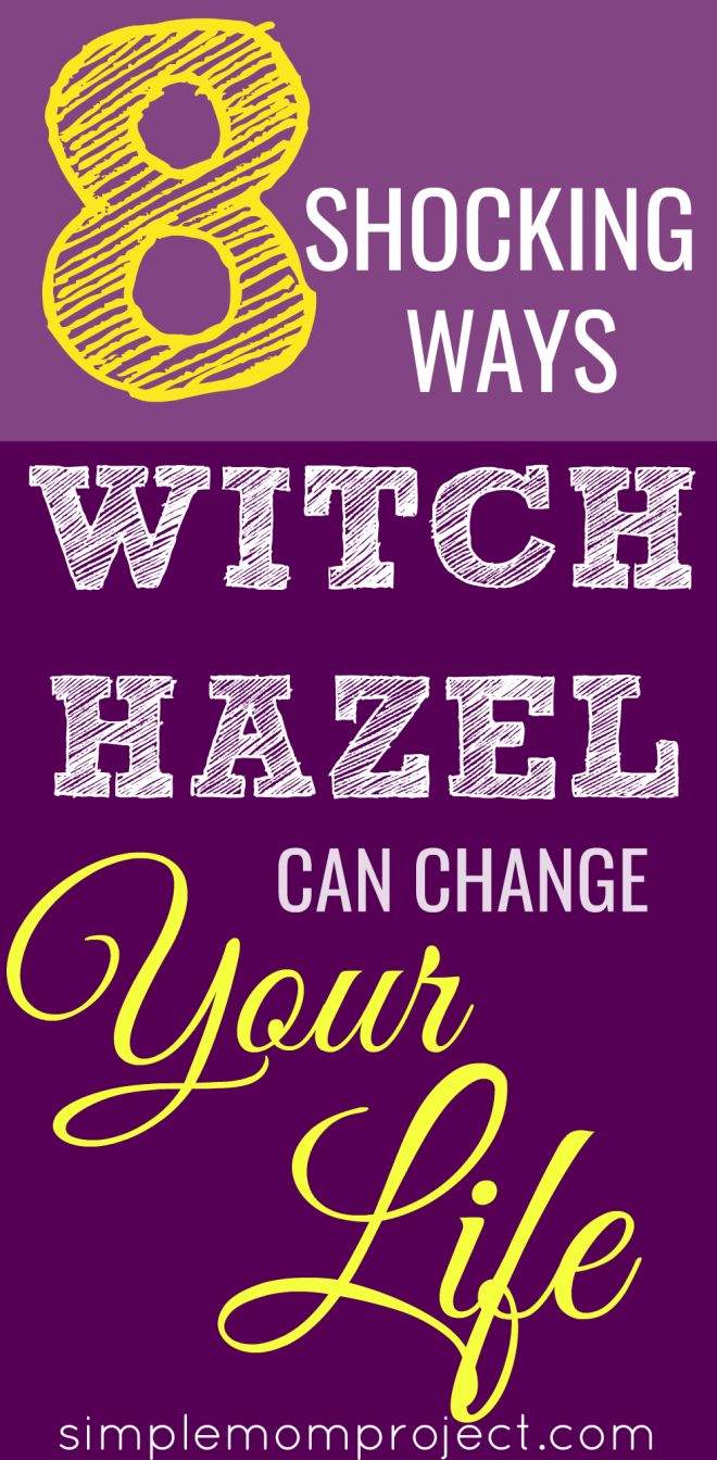 8 Shocking Ways Witch Hazel Can Change Your Life   Witch Hazel's benefits are astonishing. Its a toner, acne reducer and so much more. Find out how it can change your life today!