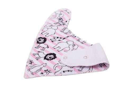 For the DIY mom w/ no time - Keep your baby girl dry from drool and clean from mess with these cute, 100% cotton bandanna bibs. Comes in 8 different adorable patterns! | No baby? These make an excellent baby shower gift!