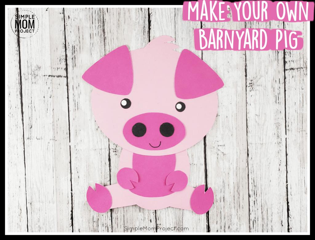 Easy Diy Pig Craft Activity For Preschool Kids