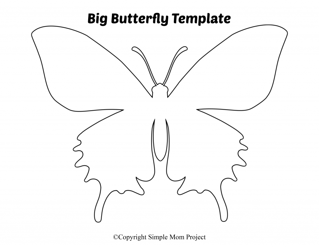Free Printable Butterfly Templates