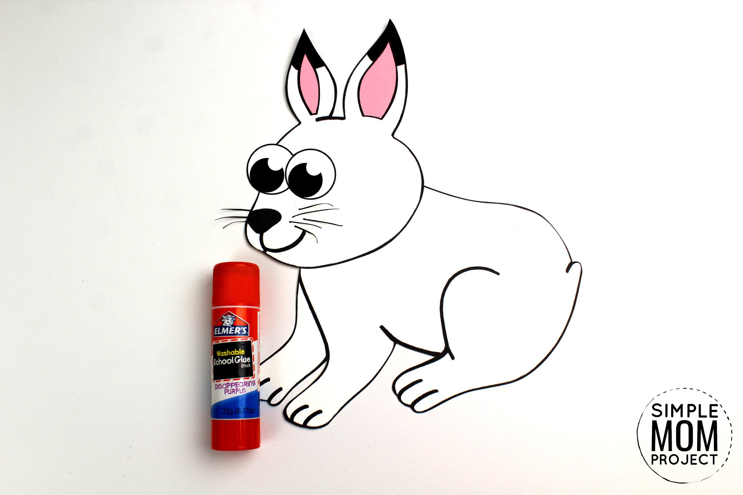 Free Printable Arctic Hare Craft For Kids With Template