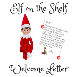 free elf on the shelf welcome letter printable simple mom review