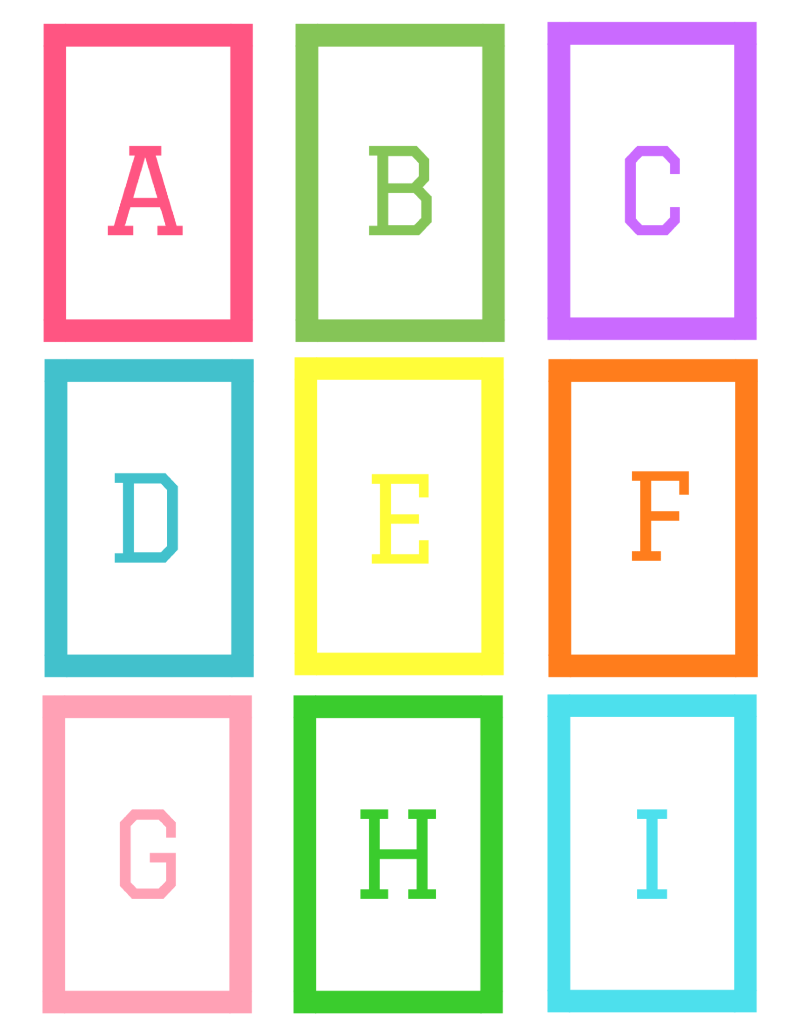 Abc Flashcards Free Printable Simple Mom Review