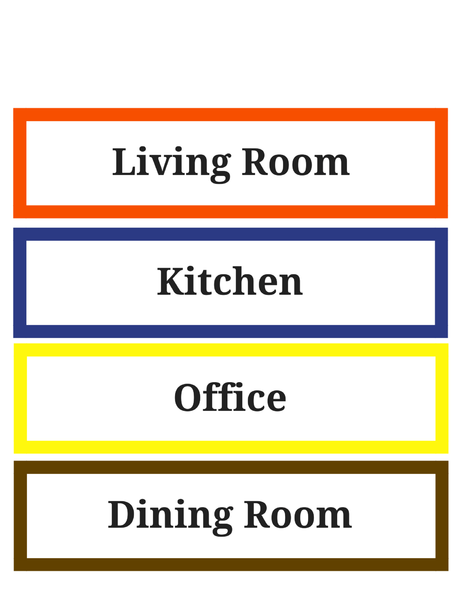 photograph regarding Colored Printable Labels identify Relocating Labels: Cost-free Printable - Basic Mother Evaluation