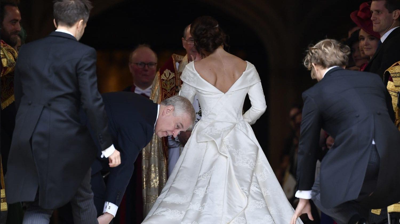 Princess Eugenie's Wedding Dress Shows Scoliosis Scar