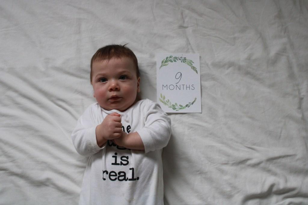 boy 9 months