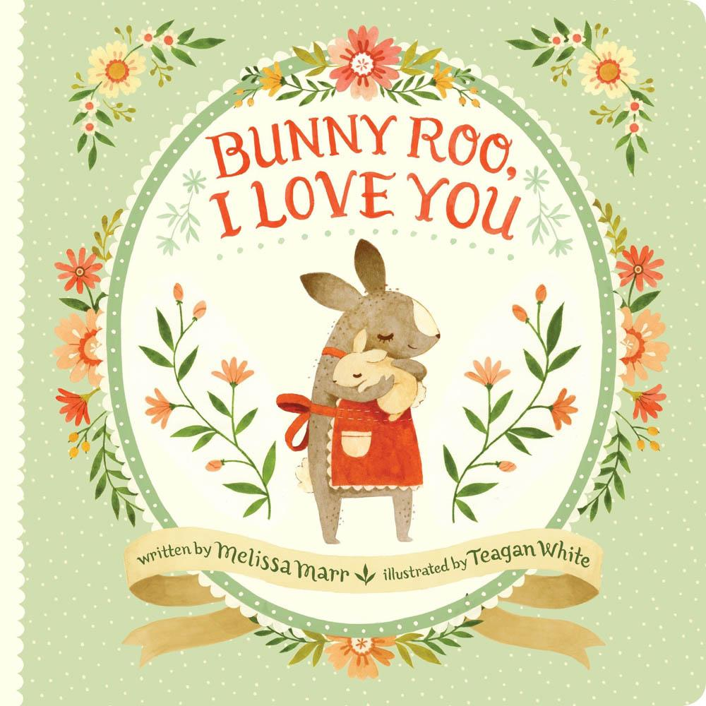 Bunny Roo I Love You Book for Easter Basket Stuffers