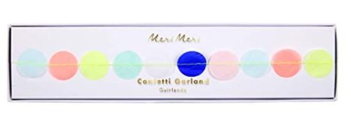 Meri Meri Multicolor Confetti Garland