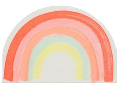 Meri Meri Multicolor Rainbow Napkins