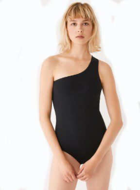 Frank and Oak One Shoulder One Piece_