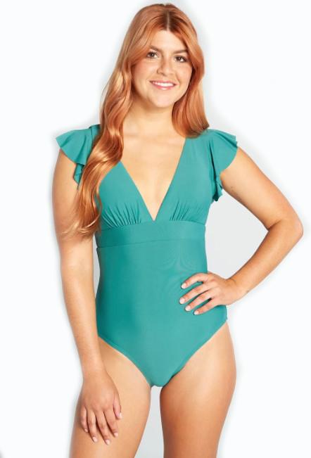 Modcloth Kelsie Women's One Piece Bathing Suit