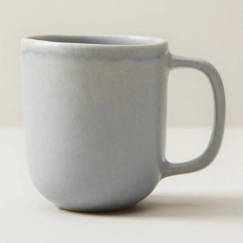 Oui Organic Stoneware Mug Light Blue Chapters