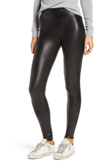 SPANX® Faux Leather Leggings (Regular & Petite)