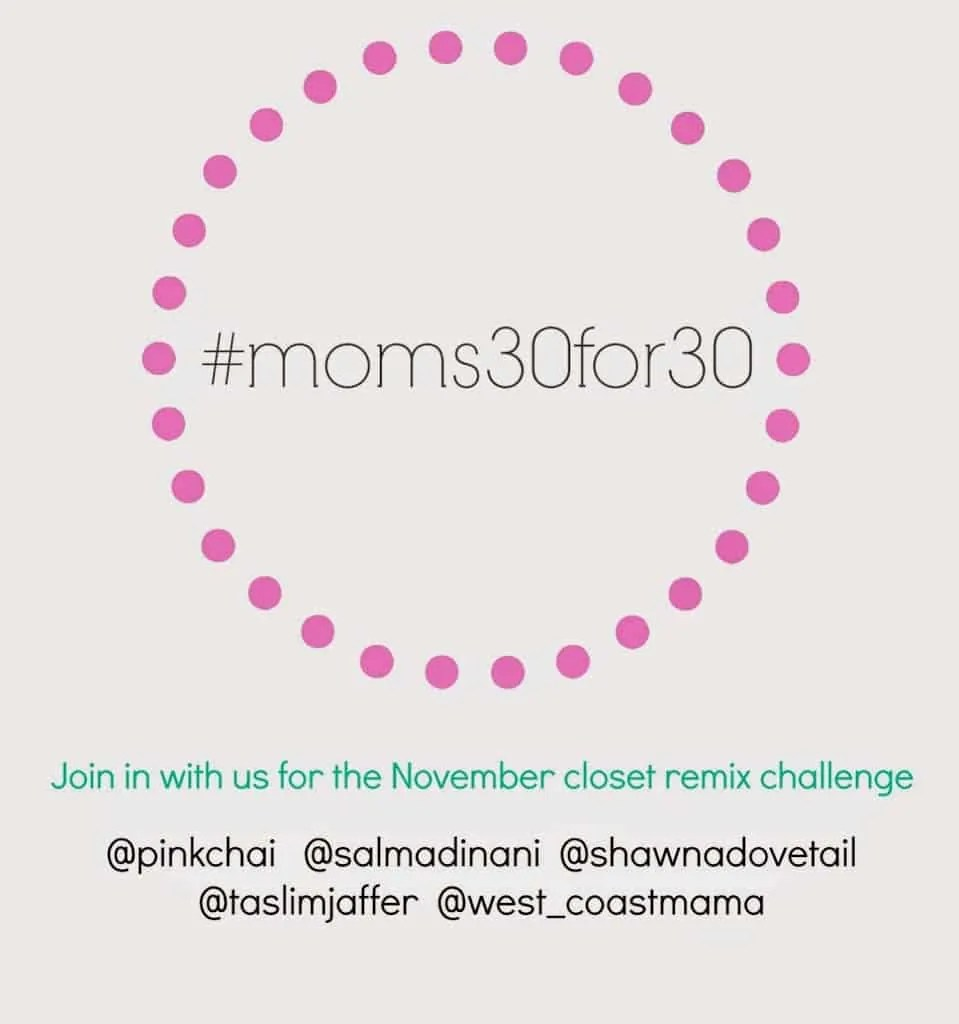 Week Four of #moms30for30