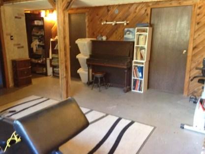 basement purge, simple on purpose