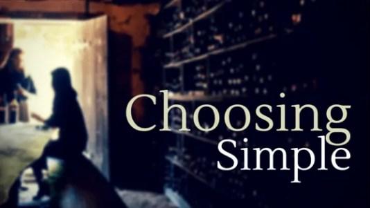 choosing simple living