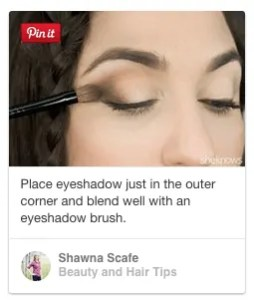 how to place eyeshadow on outer crease and blend