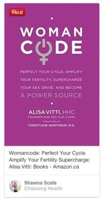 womancode book by alisa vitti