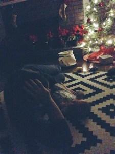 christmas with baby dawson