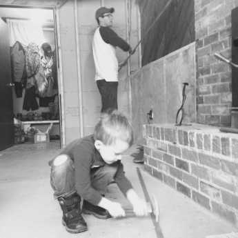 renovating a basement with toddlers