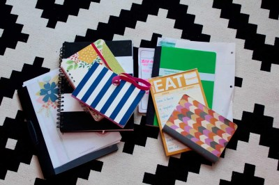 lists and notebooks