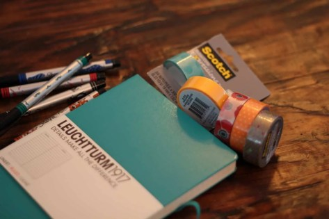 ways to start a bullet journal
