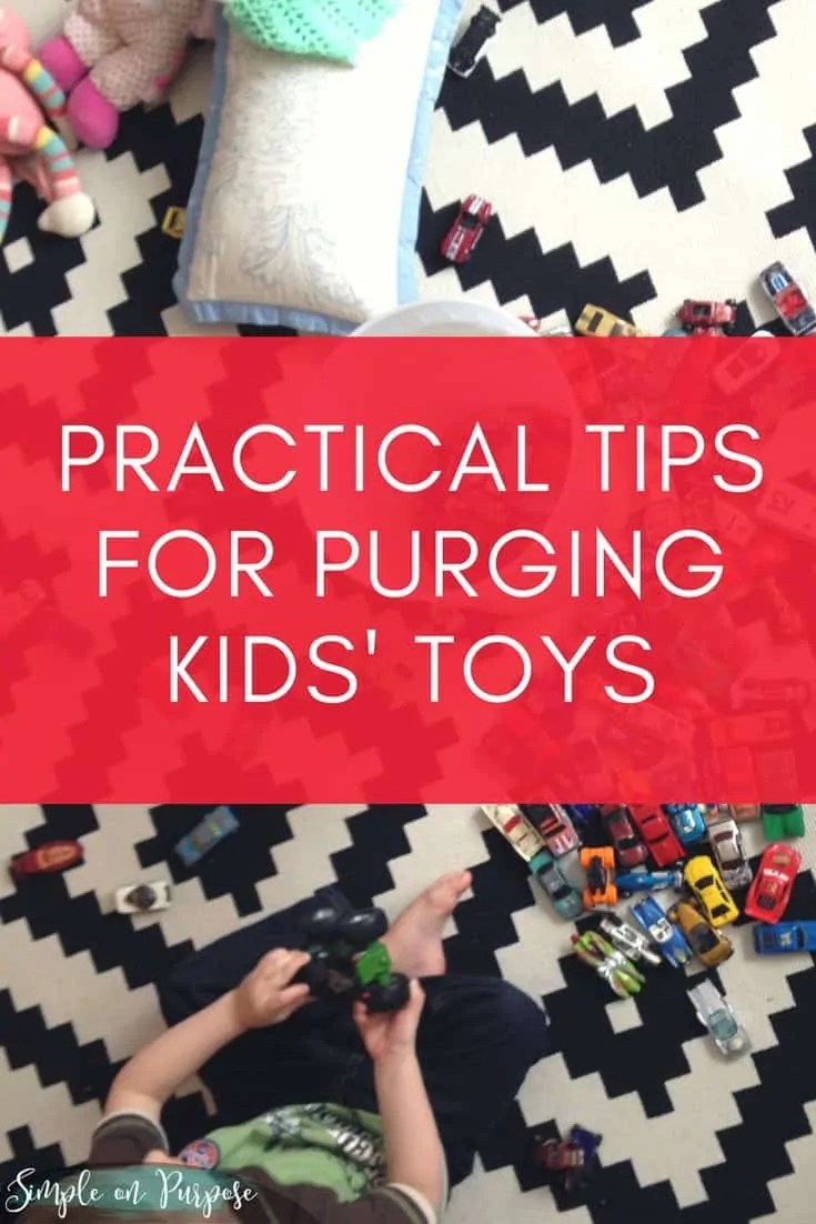 Practical Advice For Purging Kids' Toys