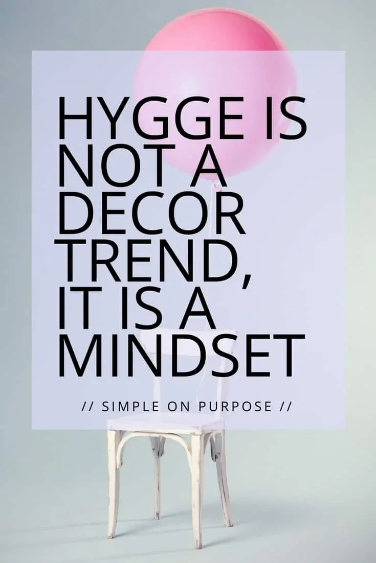 Hygge is not a decor trend, it is a mindset
