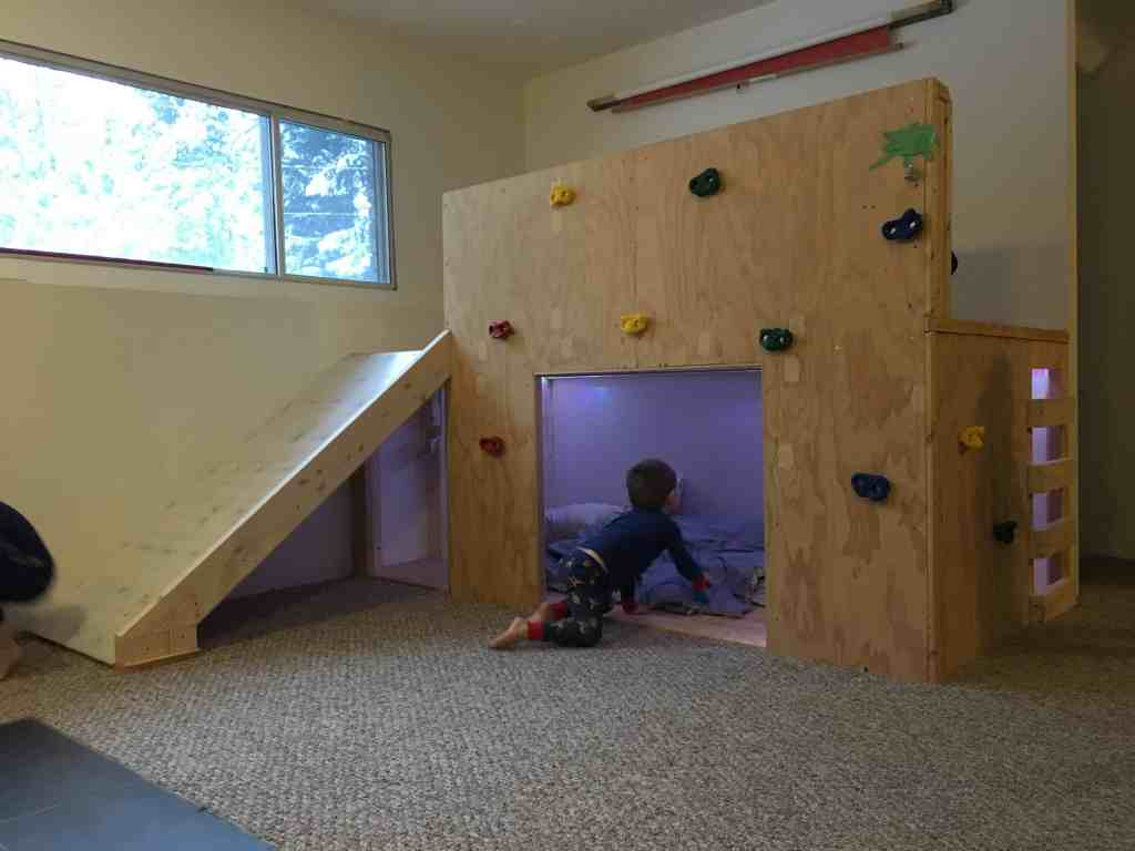 plywood diy kids fort