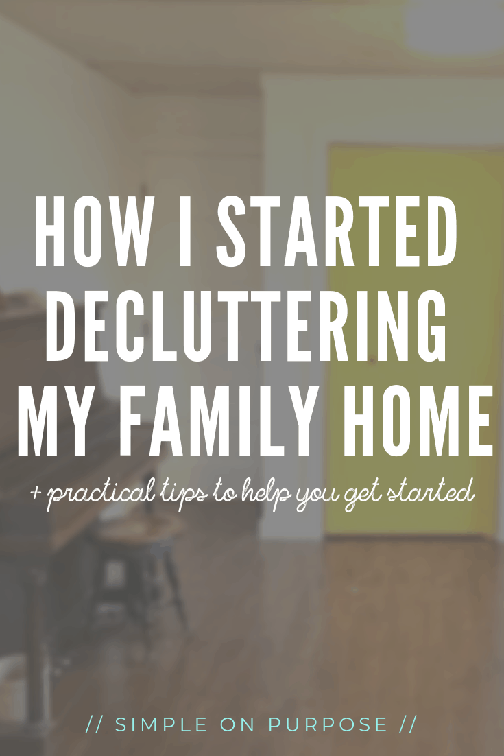 How I Started Decluttering (+ tips and insights)