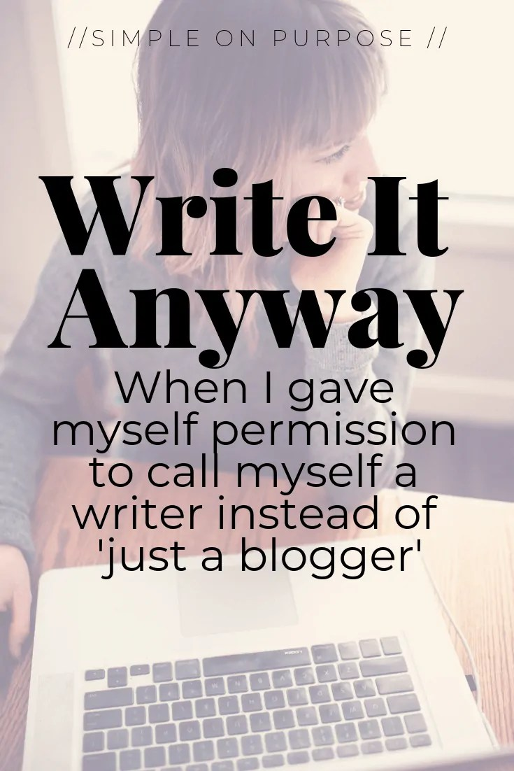 blogger writer