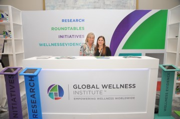 Global Wellness Institute Booth