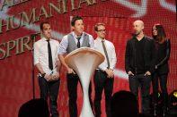 New HQ pictures of Simple Plan receiving the Allan Slaight Humanitarian Spirit Award 3
