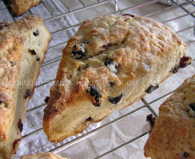 Beautiful and delicious scones