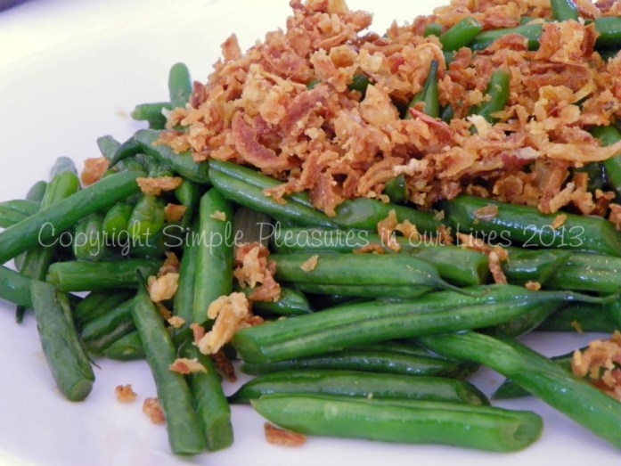 Simple Stir-Fried Green Beans