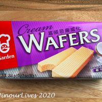 Garden Cream Wafers - Coconut Flavor