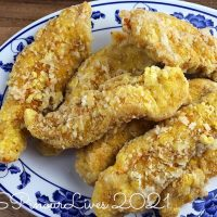 Simple Fried Chicken Strips