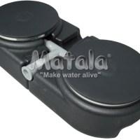 "Matala dual 9"" disc and dual base diffuser"
