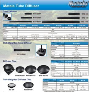 Matala Tube Diffuser Brochure