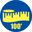 100' Roll of Rubber