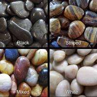 Polished pebble choices