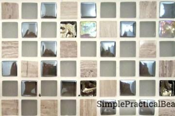 beautiful 1-inch mosaic tiles